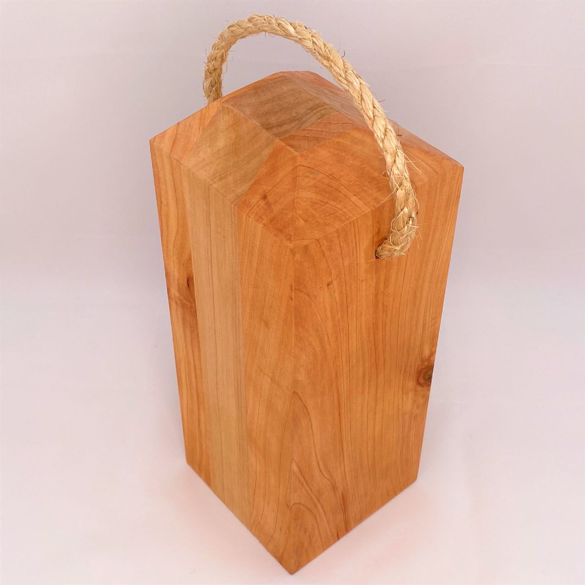MACROCARPA DOOR STOP 5x5: Small
