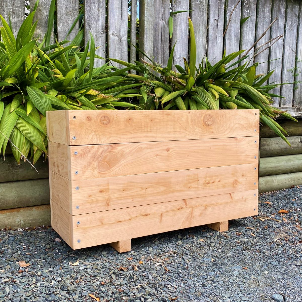 MACROCARPA PATIO PLANTER BOX: 375x610x1.0M